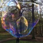 Nouvelle vidéo de bulles de savon géantes