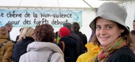 Le chêne de la non violence.